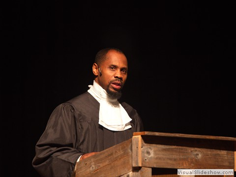 Joseph McNeil as Pastor Jones