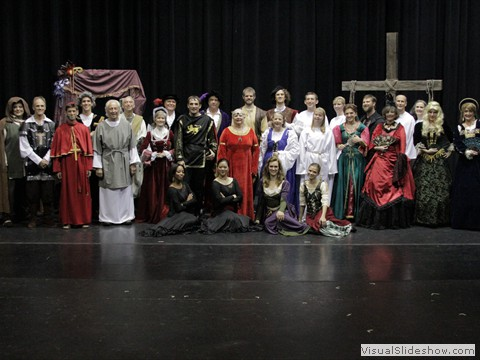 2013 The Pilgrim's Progress cast photo
